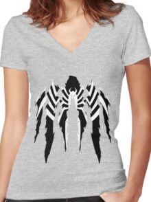 Venom  Women's Fitted V-Neck T-Shirt