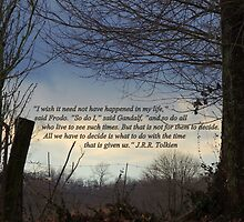Quote by J.R.R., Tolkien on Scene of Nature by TrendleEllwood