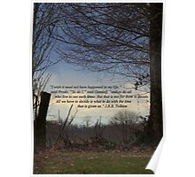 Quote by J.R.R., Tolkien on Scene of Nature Poster