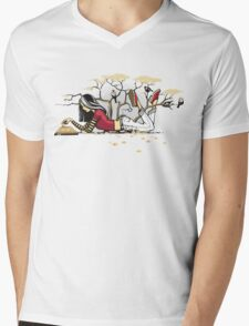 Compelling Compendium Mens V-Neck T-Shirt