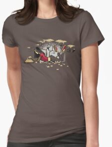 Compelling Compendium Womens Fitted T-Shirt