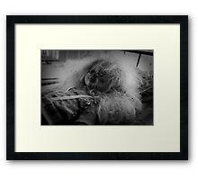Chernobyl Doll Framed Print