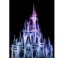 Disney Magic: The Castle Photographic Print