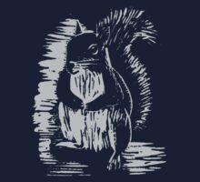 Silver Squirrel by GryffinDesigns