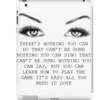 love 1 iPad Case/Skin