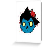 Astro-Zombie Greeting Card