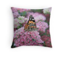 Pretty Wings Throw Pillow