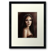 ... [sketch base on Reign] Framed Print