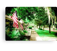 Keep American Free Canvas Print