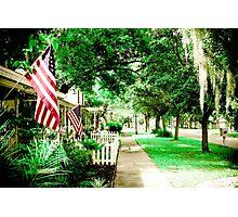 Keep American Free Photographic Print