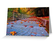 Leafy Grate Greeting Card