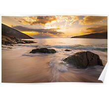 Wineglass Bay Sunrise Poster