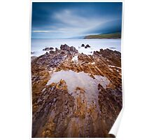 Myponga Rock Formations Poster