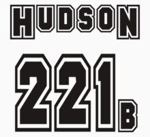 Hudson 221b - Sports Jersey - SHERLOCK by poorlydesigns