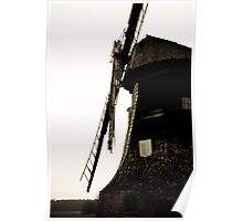 Dilapidated Windmill Poster