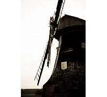 Dilapidated Windmill Photographic Print