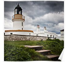 Cromarty Lighthouse, Scotland Poster