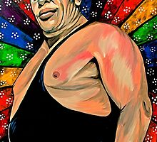 Andre the Giant  by portraitsonthep