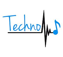 Techno Heartbeat Music Note by Style-O-Mat
