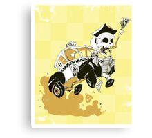 Psychic Cab Canvas Print