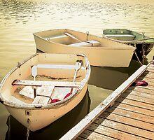 Rowboats by Elizabeth Thomas