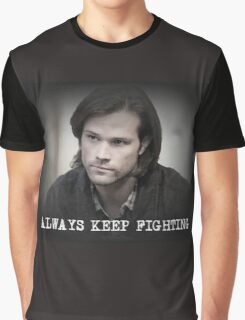 Jared Padalecki Always Keep Fighting Graphic T-Shirt