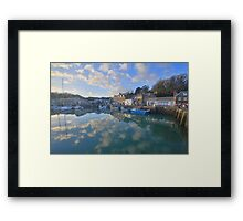 Cornwall: Padstow Harbour Reflections Framed Print