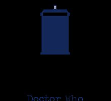 Doctor Who Series 1 minimalist  by featherarrows