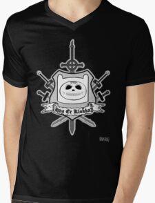 Hva Er Klokka? Mens V-Neck T-Shirt