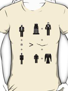 Doctor Who Maths - Trenzalore Edition, Clara T-Shirt