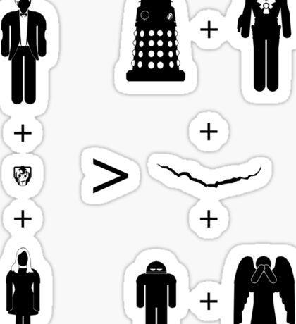 Doctor Who Maths - Trenzalore Edition, Clara Sticker