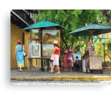 Art Show in San Juan Canvas Print