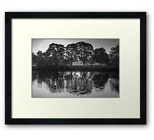Sunny River Framed Print