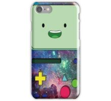 Adventure time bmo Galaxy cartoon iPhone Case/Skin