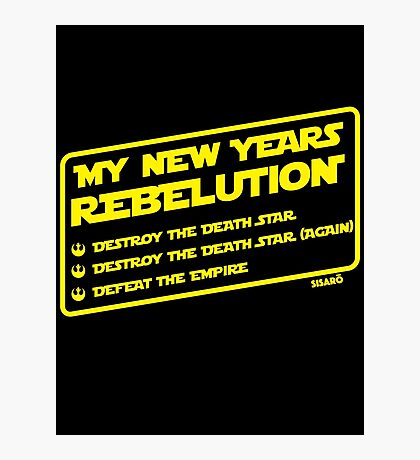 New Year's Goals Photographic Print