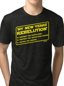 New Year's Goals Tri-blend T-Shirt