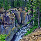 Terraced Falls Chasm #1 by Brenton Cooper