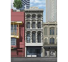 Merchants Mutual Insurance Building ~ Day Photographic Print