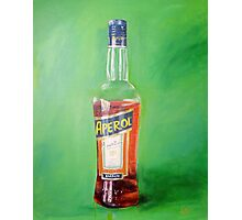 Aperol portrait Photographic Print