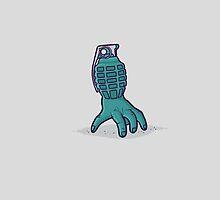 Hand grenade by Randyotter