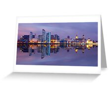 Liverpool Skyline Greeting Card