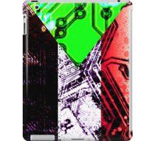 sudan circuit board (flag) iPad Case/Skin