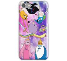 Adventure Time galaxy iPhone Case/Skin