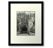 Gatehouse and Turrets Framed Print