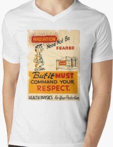 Radiation 1950 poster vintage Mens V-Neck T-Shirt
