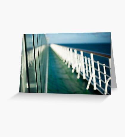 The Sun Deck Greeting Card