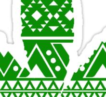 Pot Leaf Pattern Sticker