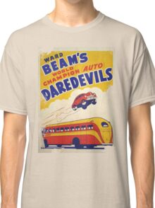 Dare devil Autos 1950 s poster t-shirt vintage Classic T-Shirt