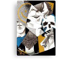 Sherlock - Impressions Canvas Print