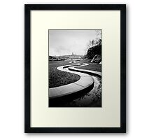 People & Street 3 Framed Print